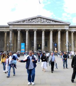 Me outside the British Museum. , tommyharris1814 - September 2012