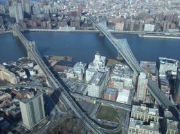 Photo of New York City Manhattan Sky Tour: New York Helicopter Flight Brooklyn and Manhattan Bridges