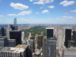 Blick vom Top of the Rock zum Central Park , fam.schauf - August 2015