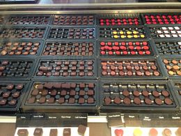 Photo of Brussels Brussels Chocolate Walking Tour and Workshop Chocolates!