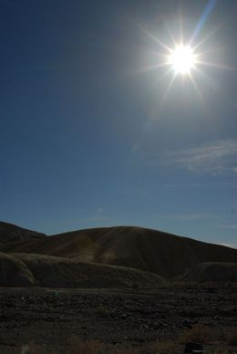 Couldn't resist this filtered shot of the sun beating down in Death Valley., Jeff - May 2008