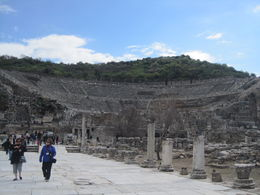 End of Ephesus, old road to old harbour , Marika K - April 2014