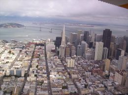 The Transamerica Building really stands out. - June 2008