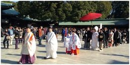 Traditional Japanese Wedding in Meiji Shrine , Daud M - December 2013