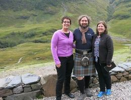 Photo of Glasgow 3-Day Isle of Skye Small-Group Tour from Glasgow Murray with my sister and I