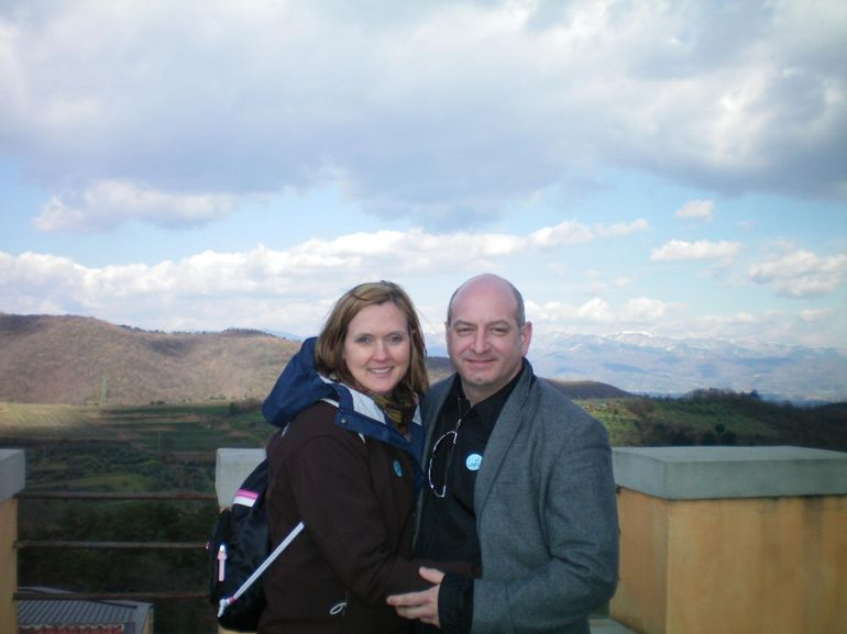 Overlooking the Wine fields - Florence