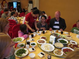 Peking Duck Dinner, Cat - July 2012