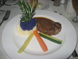 Photo of Oahu Oahu Casual Sunset Dinner and Show Cruise Steak