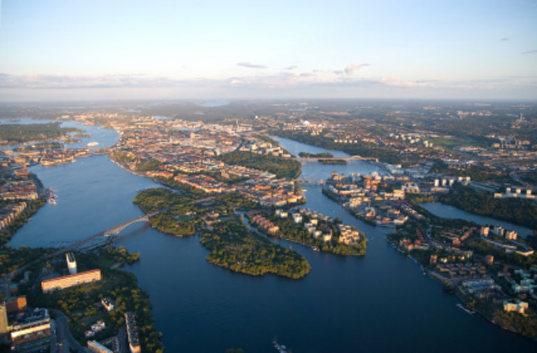 Stockholm from the Air - Stockholm