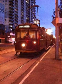 This is the Tramcar we rode in , Wai Kheng Y - December 2013