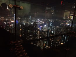 Dinner on the Peak in a wonderful Japanese restaurant with stunning views. , Dave B - February 2013
