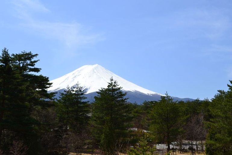 View before we ride to the 5th Station of Mt Fuji - Tokyo