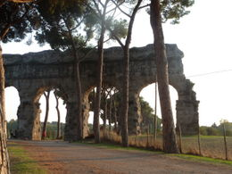 Photo of Rome Ancient Appian Way, Catacombs and Roman Countryside Bike Tour Appian Way Bike Tour.