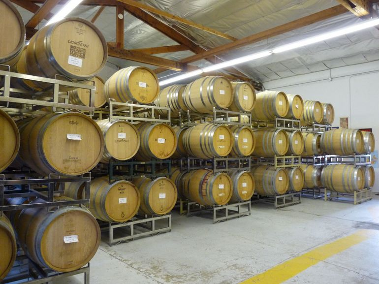 Barrels at Loxton - San Francisco