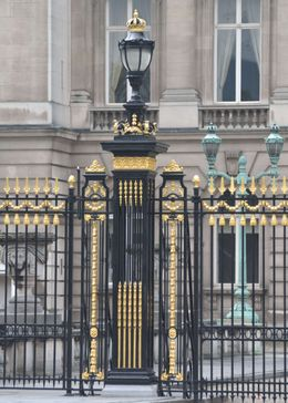 Photo of   Brussels Royal Palace Gate