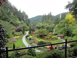 View of the Sunken Garden , John C - August 2011