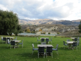 View from Carrick Winery, Central Otago - May 2010