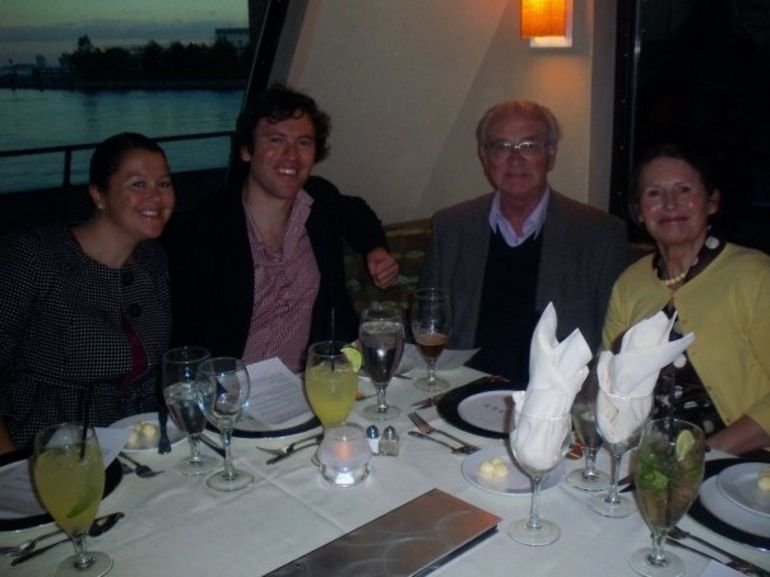 Dinner on the cruise - Boston