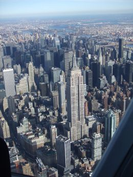 Photo of New York City Manhattan Sky Tour: New York Helicopter Flight Empire State Building from the air