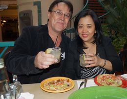 Photo of San Diego Tequila, Tacos and Tombstones Culinary Tour Enjoying the food and drink!