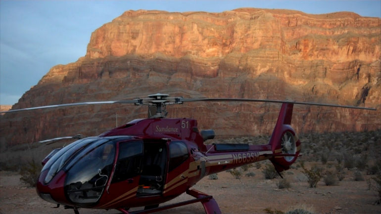 Grand Canyon West Rim Deluxe Sunset Helicopter - Las Vegas