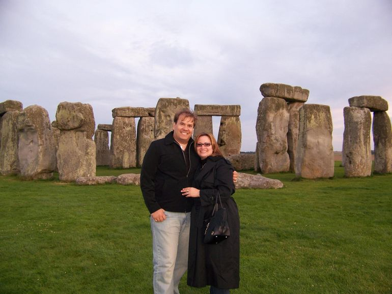Just Us and Stonehenge - London