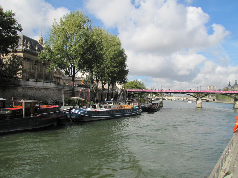 Pretty views along the Seine