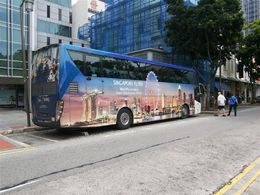 Photo of Singapore Singapore City Tour with optional Singapore Flyer The coach used for part of the tour