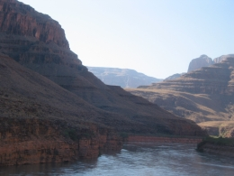 Coming in for landing by the Colorado River. - June 2010