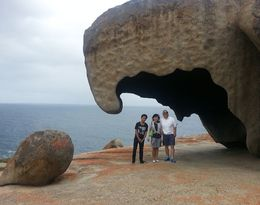 Photo of Adelaide 2-Day Kangaroo Island Tour from Adelaide Unremarkable Rocks
