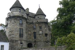 Falkland Castle , JAMES F - September 2012