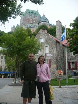 My wife and me, Valdir L - August 2009