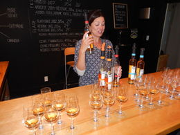 Photo of Montreal Ice Wine Tour from Montreal with Exclusive Winery Access Anoushaka providing Cider Tasting