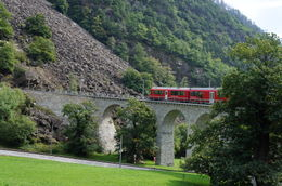 Photo of Milan Swiss Alps Bernina Express Rail Tour from Milan Bernina Express