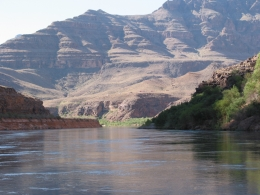 Our short trip on the Colorado River. What a sight! - June 2010