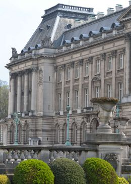 Photo of   Brussels Royal Palace Side View