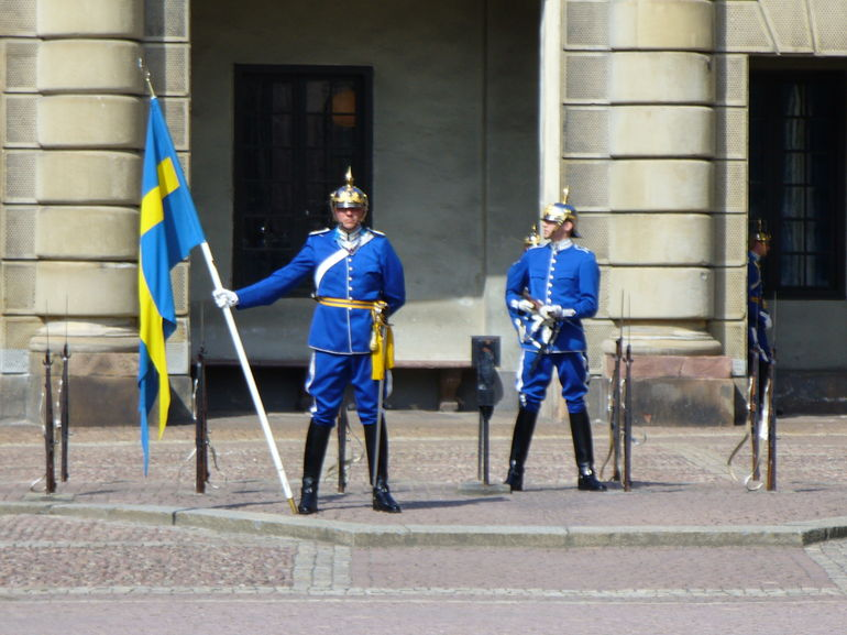 Changing of Guard - Sweden