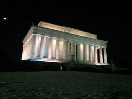 Outside the Lincoln memorial - March 2015