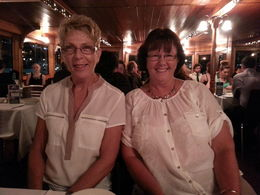 Photo of Brisbane Brisbane River Dinner Cruise Diane Pullen and Dawn Mansfield