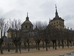 Photo of Madrid El Escorial Monastery and the Valley of the Fallen from Madrid El Escorial