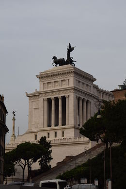 Photo of Rome Rome Hop-On Hop-Off Sightseeing Tour end of the wedding cake building
