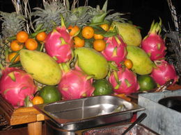 Photo of Ho Chi Minh City Ho Chi Minh City Bonsai Dinner Cruise on Saigon River Fruits