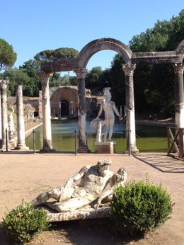 The best place for photos at Hadrian's Villa was this water/pool area. , Staci C - July 2012