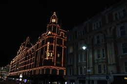 Harrods by night , Crazy Nany - March 2014