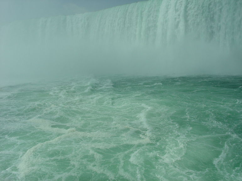 Horseshoe Falls from Hornblower Cruise, Niagara Falls