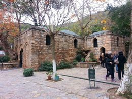The House of the Virgin Mary at Ephesus. , Amy C - December 2012