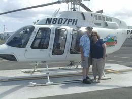 Photo of Big Island of Hawaii 2-Hour Big Island Helicopter Flight from Kona My wife of 30 years!