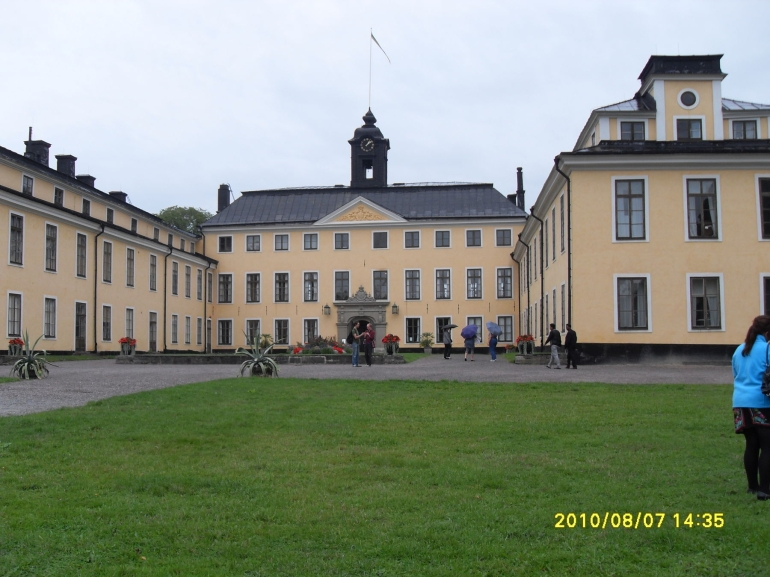 One of the Stockholm's Royal Palace - Stockholm