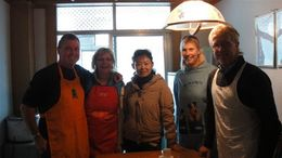 Photo of Xian Experience Xi'an: Dumpling Making and Family Cooking Class Proud chefs!