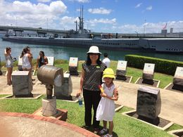 My wife and my daughter , Nam Anh N - August 2014